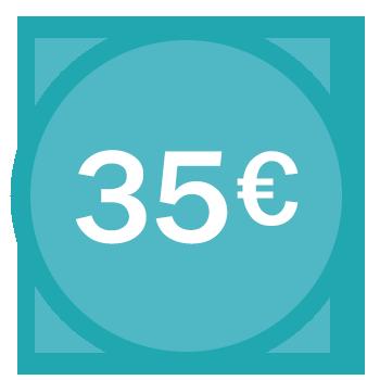 Tarif 35€/h